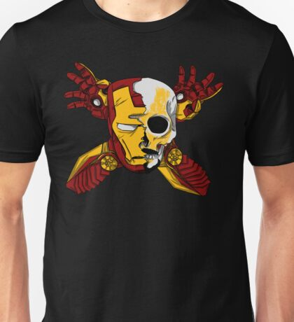 Iron Skull. Unisex T-Shirt