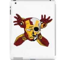 Iron Skull. iPad Case/Skin