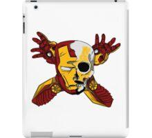 Iron Skull. iPad Case/Skin