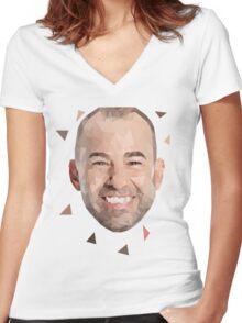 James Murray Impractical Jokers Tshirt Women's Fitted V-Neck T-Shirt