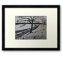 Uk Countryside  Framed Print