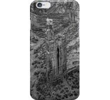 Canyon de Chelly IV BW iPhone Case/Skin