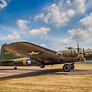 """Boeing B-17G Fortress II 44-85784 G-BEDF """"Sally B/Memphis Belle"""" by Colin Smedley"""