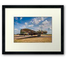 "Boeing B-17G Fortress II 44-85784 G-BEDF ""Sally B/Memphis Belle"" Framed Print"
