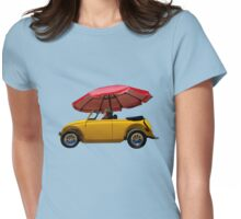 VDub Downpour at Padre Island Womens Fitted T-Shirt