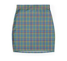 00121 Yukon District Tartan  Mini Skirt