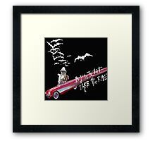 Hunter Thompson:  Buy the Ticket, Take the Ride Framed Print
