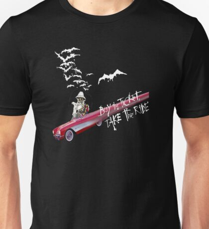 Hunter Thompson:  Buy the Ticket, Take the Ride Unisex T-Shirt