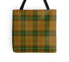 00123 Saskatchewan District Tartan  Tote Bag