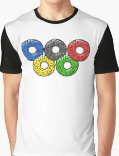 Olympic Donuts - Unofficial Non Competitors Uniform 2016 Graphic T-Shirt