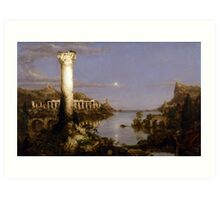 The Course of Empire: Desolation by Thomas Cole (1836) Art Print