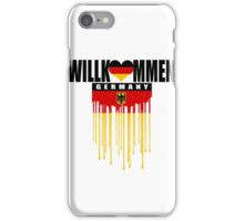 welcome germany iPhone Case/Skin