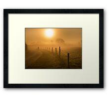 The Path Chosen Framed Print