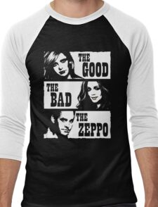 The Good The Bad The Zeppo Men's Baseball ¾ T-Shirt