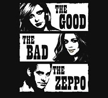 The Good The Bad The Zeppo Women's Fitted Scoop T-Shirt