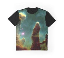 Pillars of Creation Nebula Graphic T-Shirt