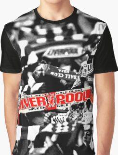 Liverpool LFC Scarf Shirt Graphic T-Shirt