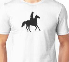 Horseriding Silhouette Unisex T-Shirt
