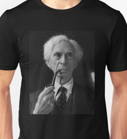 Bertrand Russell Pipe Unisex T-Shirt