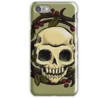 Skull Nouveau iPhone Case/Skin