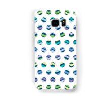 Multi Colored Polka Dots Chevron Samsung Galaxy Case/Skin