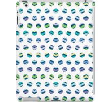 Multi Colored Polka Dots Chevron iPad Case/Skin