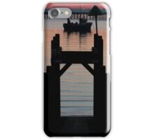 Down to the sunset sea iPhone Case/Skin