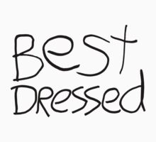 Best Dressed Kids Tee