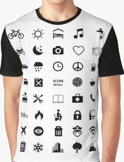 Icon Speak Graphic T-Shirt