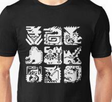 Monster Hunter Icon Design Unisex T-Shirt