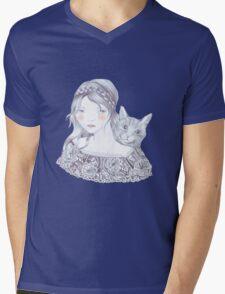 A Love Story Mens V-Neck T-Shirt