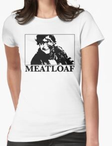 Meatloaf Jack Womens Fitted T-Shirt