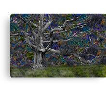 Psychedelic Oak Canvas Print