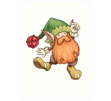 Gnome Secret of Mana - Seiken Densetsu Art Print