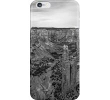 Canyon de Chelly III BW iPhone Case/Skin