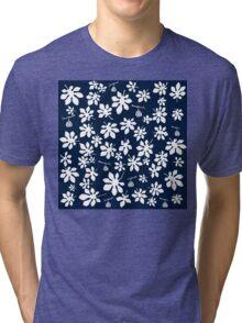 Fig tree pattern Tri-blend T-Shirt