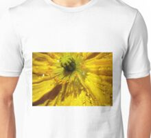 Yellow Poppy Close-up Unisex T-Shirt