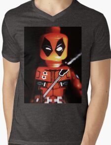 Jimichangas Mens V-Neck T-Shirt