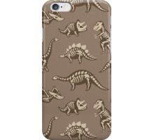 Dinosaur skeletons iPhone Case/Skin