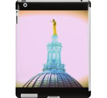 TOP OF STATE CAPITAL, MADISON, WI iPad Case/Skin