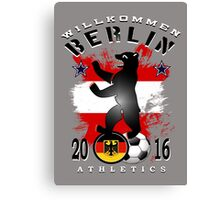 berlin athletics Canvas Print