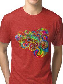 Psychedelizard Tri-blend T-Shirt