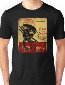 Tournee du Xenomorphe Noir Unisex T-Shirt