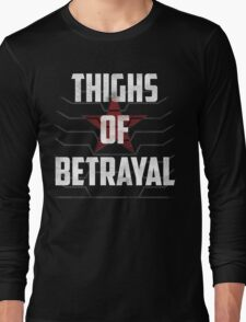 Thighs of Betrayal- The Winter Soldier T-Shirt