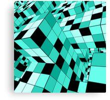 Rubik series 1, mint Canvas Print