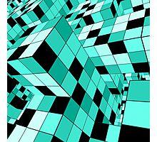 Rubik series 1, mint Photographic Print