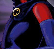 Raven-Evil Side Sticker