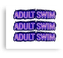 Adult Swim Canvas Print