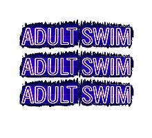 Adult Swim Photographic Print