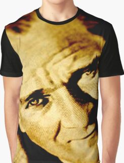 Mustafa Kemal Ataturk Graphic T-Shirt